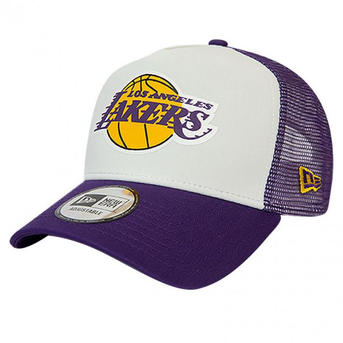 Los Angeles Lakers New Era Trucker Team Colour Block kapa