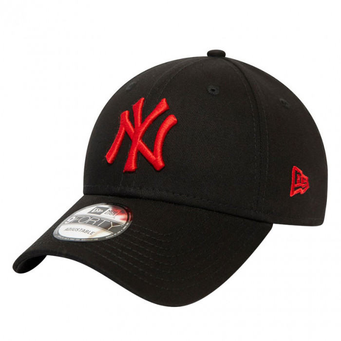 New York Yankees New Era 9FORTY Essential Red Logo Mütze