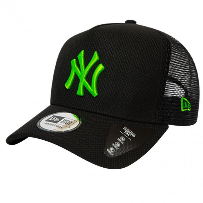 New York Yankees New Era Trucker Diamond Era Green Logo kapa