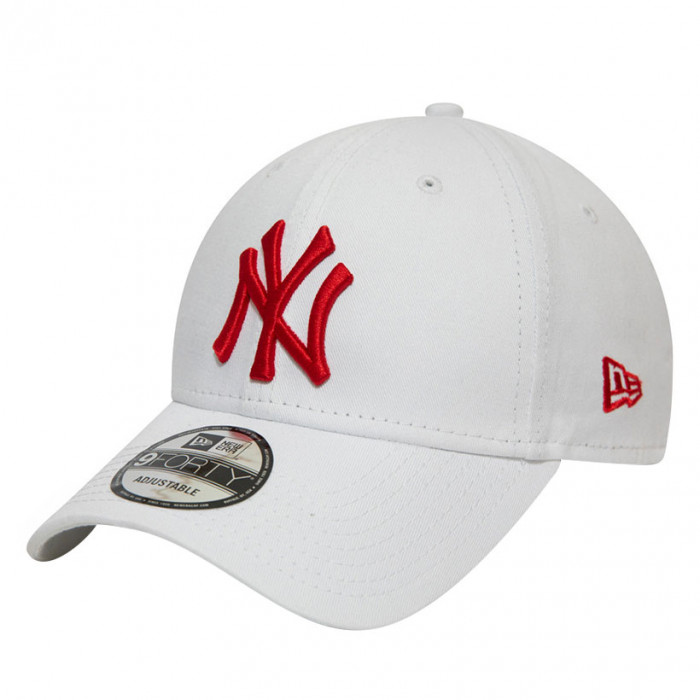 New York Yankees New Era 9FORTY League Essential Red Logo kapa