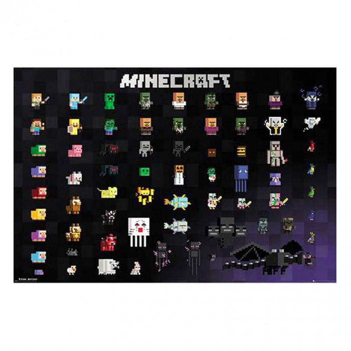 Minecraft 291 poster 61x91