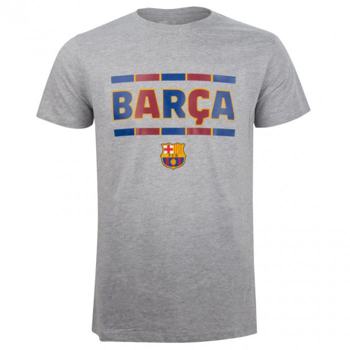 FC Barcelona Slam Grey T-Shirt