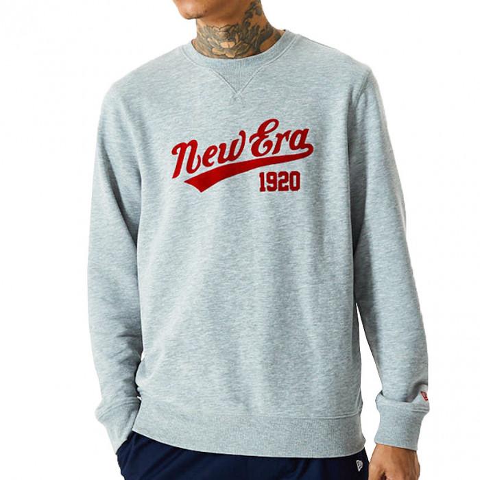 New Era Heritage Crew pulover