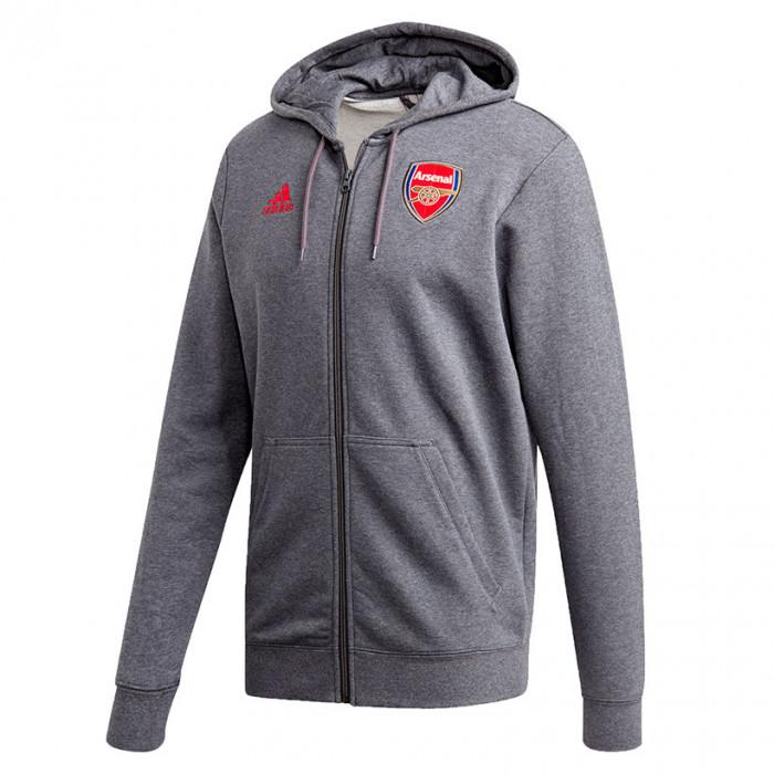 Arsenal Adidas 3S Kapuzenjacke
