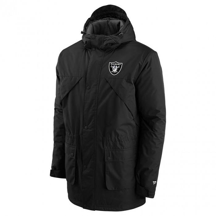Las Vegas Raiders Iconic Back To Basics Heavyweight zimska jakna