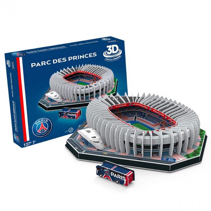Paris Saint-Germain Parc de Princes 3D Stadium puzzle