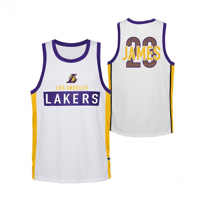 Lebron James Los Angeles Lakers Dominate Kids Jersey