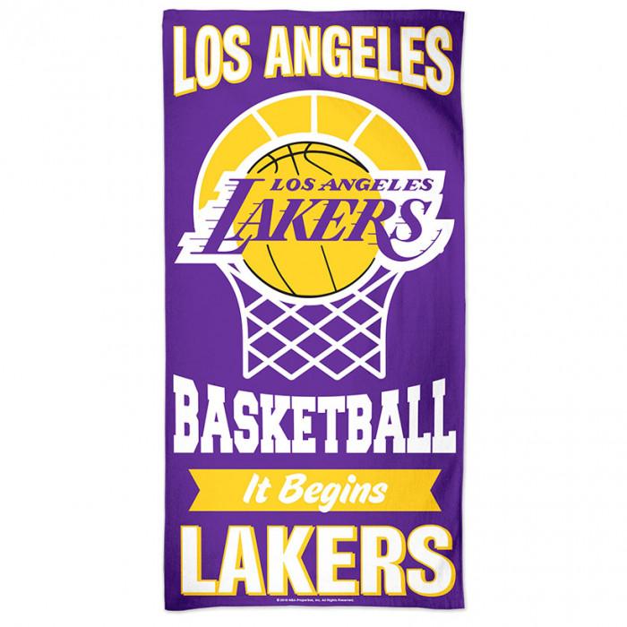Los Angeles Lakers brisača 75x150