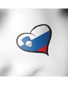 Slovenija tattoo srček