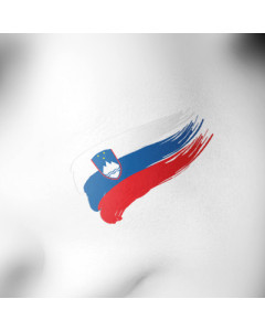 Slovenija tattoo zastava
