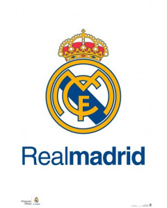 Real Madrid Wappen Poster
