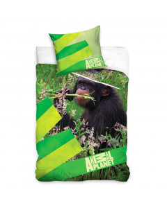 Planet živali posteljnina opica 140x200