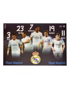 Real Madrid Zeichenblock A3 / 20 Blatt