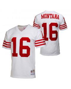 Joe Montana #16 San Francisco 49ers 1990 Mitchell & Ness replika dres
