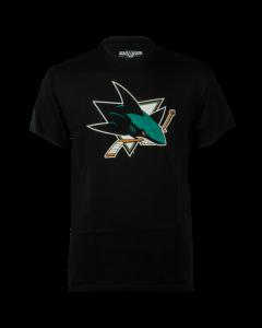 San Jose Sharks Levelwear Core Logo T-Shirt (400000-shar)