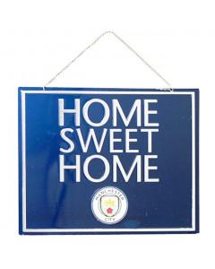 Manchester City Home Sweet Home Schild
