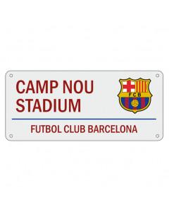 FC Barcelona Street Sign tabla
