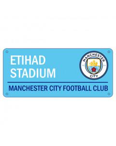 Manchester City Schild