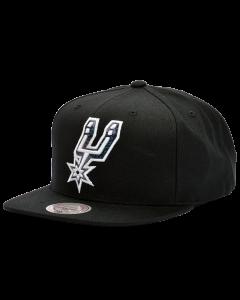 San Antonio Spurs Mitchell & Ness Dark Hologram Mütze