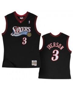 Allen Iverson 3 Philadelphia 76ers 2000-01 Mitchell & Ness Swingman Trikot XXL