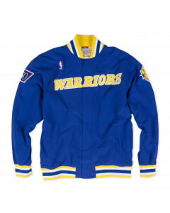 Golden State Warriors 1996-97 Mitchell & Ness Authentic Warm Up jakna