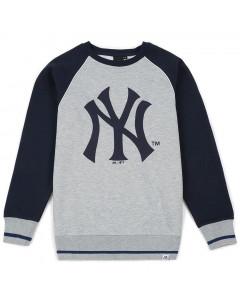 New York Yankees Majestic Athletic Raglan Crew Pullover (MNY3778E2)