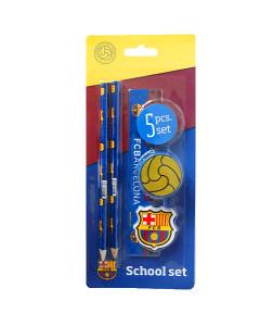 FC Barcelona set za školu (5 kom)