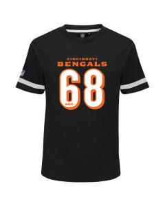 Cincinnati Bengals Mesh V-Neck T-Shirt