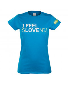 IFS Damen T-Shirt blau