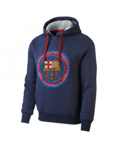 FC Barcelona Core pulover s kapuco