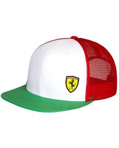 Ferrari Tricolore Trucker Mütze