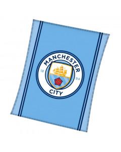 Manchester City Decke 110x140
