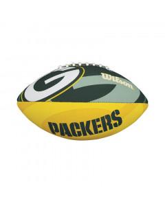 Green Bay Packers Wilson Team Logo Junior žoga za ameriški nogomet