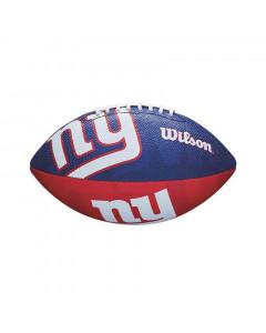 New York Giants Wilson Team Logo Junior žoga za ameriški nogomet