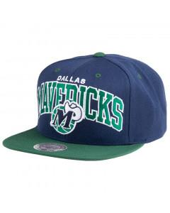 Dallas Mavericks Mitchell & Ness Current Team Arch Mütze