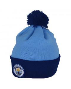 Manchester City Bobble Wintermütze