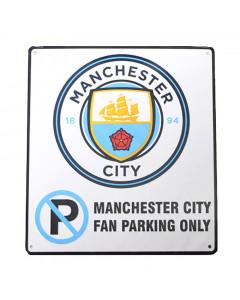Manchester City No Parking Schild
