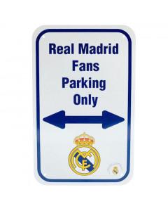 Real Madrid No Parking Schild