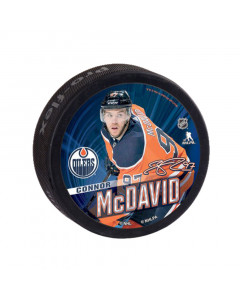 Edmonton Oilers Souvenir Puck Connor McDavid