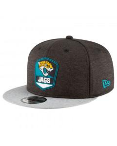 Jacksonville Jaguars New Era 9FIFTY 2018 NFL Official Sideline Road Mütze