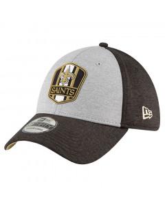 New Orleans Saints New Era 39THIRTY 2018 NFL Official Sideline Road Mütze