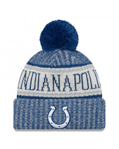 Indianapolis Colts New Era 2018 NFL Cold Weather Sport Knit zimska kapa