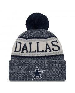 Dallas Cowboys New Era 2018 NFL Cold Weather Sport Knit zimska kapa