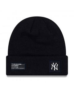 New York Yankees New Era 2018 MLB Official On-Field Sport Knit zimska kapa Navy