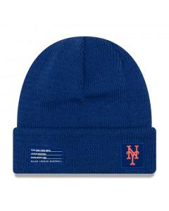 New York Mets New Era 2018 MLB Official On-Field Sport Knit Wintermütze