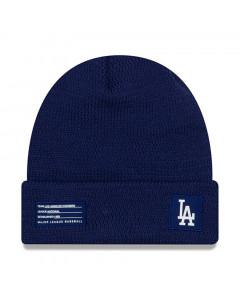 Los Angeles Dodgers New Era 2018 MLB Official On-Field Sport Knit Wintermütze