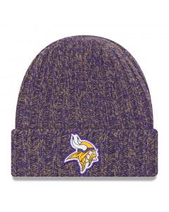 Minnesota Vikings New Era 2018 NFL Cold Weather TD Knit ženska zimska kapa