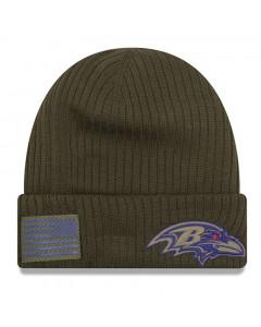 Baltimore Ravens New Era 2018 Salute To Service Sideline Cuff zimska kapa