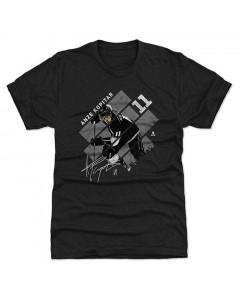 Anže Kopitar 500 Level Stripes S Wht Tri Black T-Shirt