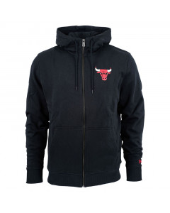Chicago Bulls New Era Team Apparel zip majica sa kapuljačom